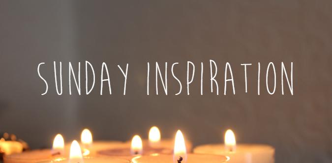 sunday inspiration stress