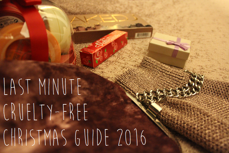 last minute cruelty free christmas guide 2016
